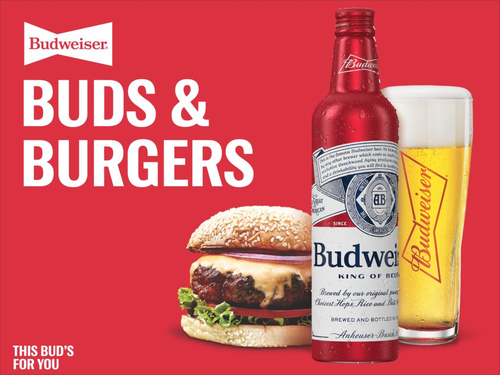 Buds & Burgers with Budweiser
