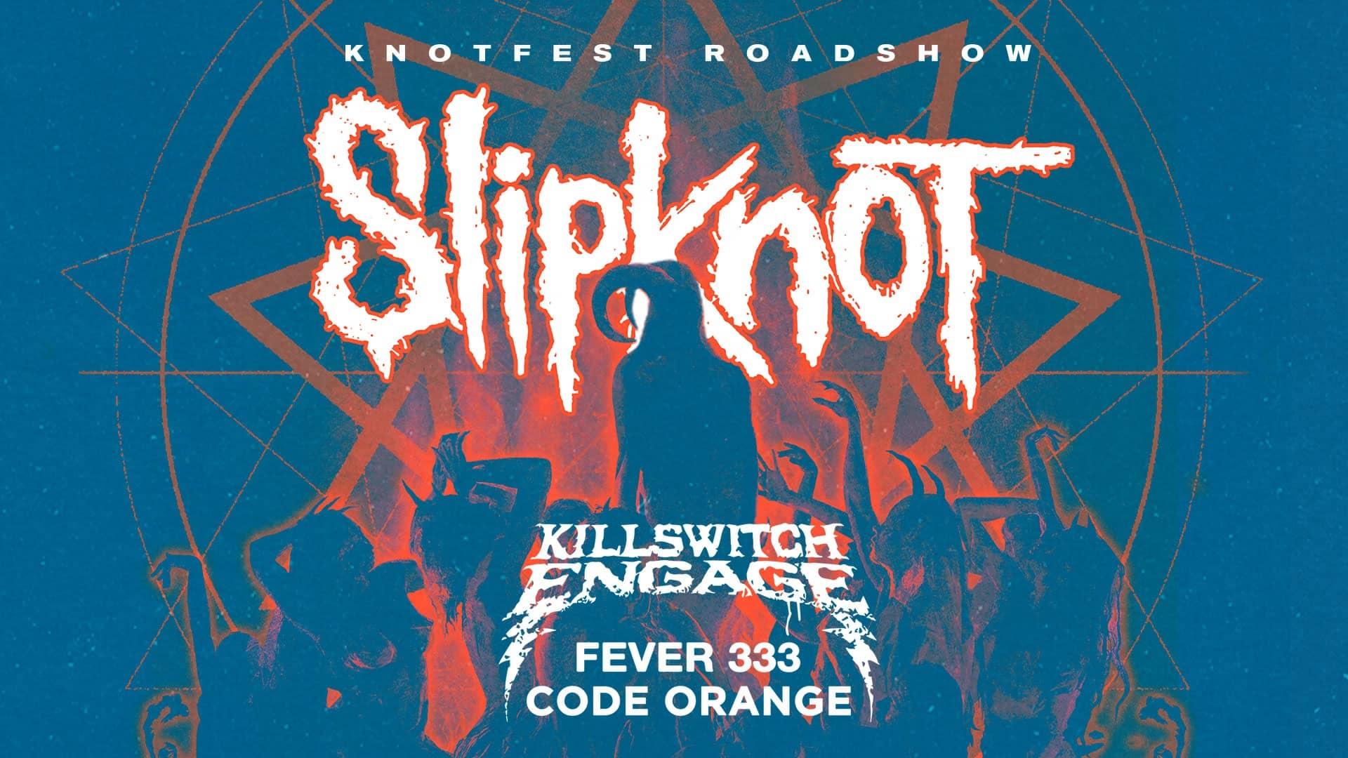 Slipknot concert poster
