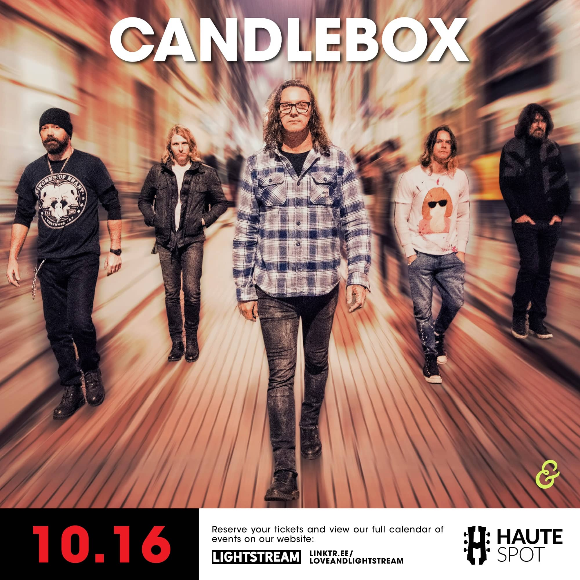 Candlebox concert poster