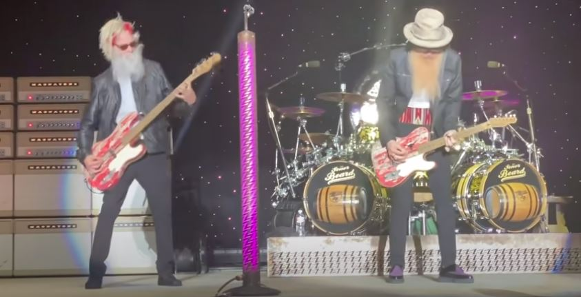 ZZ Top with Elwood Francis on bass