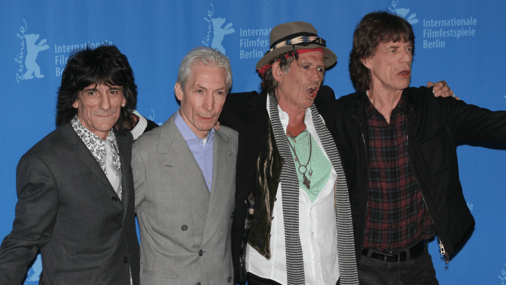 The Rolling Stones dedicate the new video for 'Living in the Heart of Love' to their late drummer, Charlie Watts