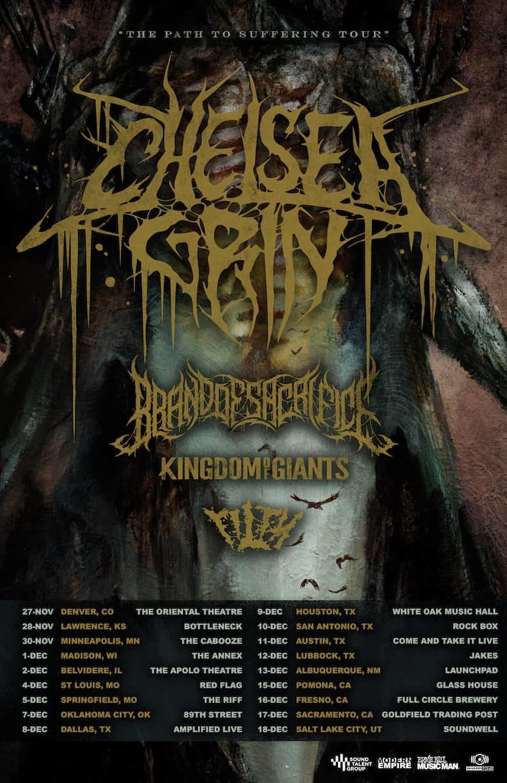 Chelsea Grin Tour