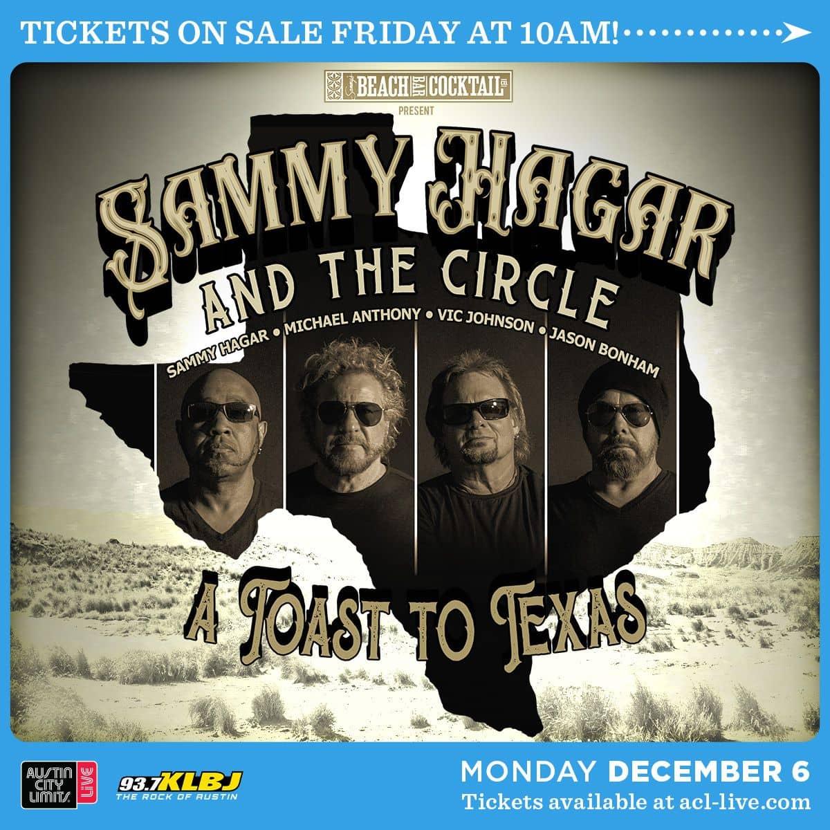 Sammy Hagar and the Circle