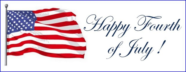 American Flag Celebrating Independence Day