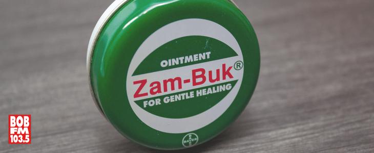 Stock Photo Of Zam-Buk Medicated Ointment With 1035BOBFM Logo