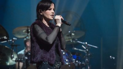 The Cranberries singer Dolores O'Riordan