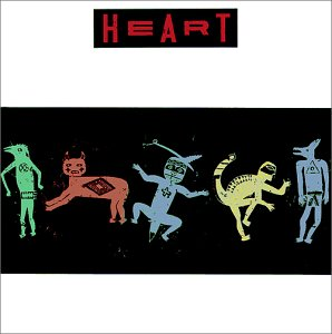 Heart's Bad Animals Album Cover With Renderings Of Tribal Creatures