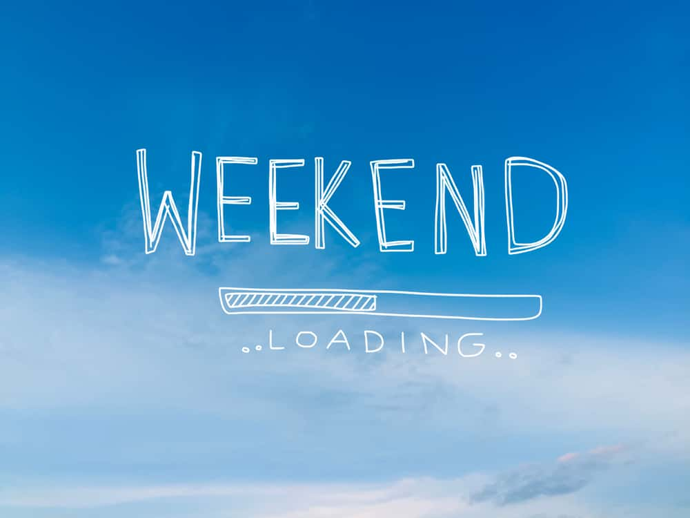 This is a photo of weekend loading