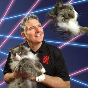 Evan and his cat