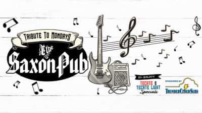 Tribute to Mondays at the Saxon Pub