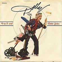 dolly parton 9-5 album cover