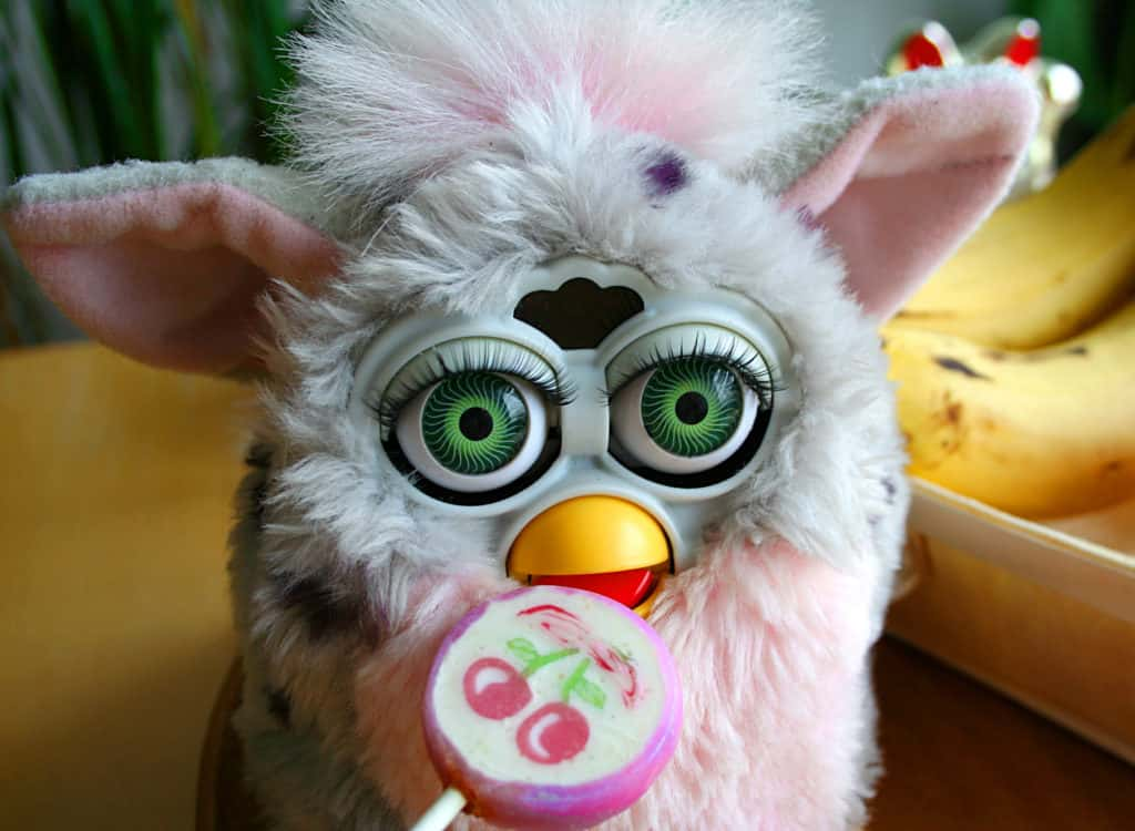 Furby - the 'must have' toy of '98