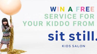 win a free kid's service from sit still salon