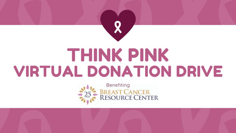 think pink virtual donation drive