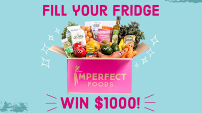 win $1000 to Imperfect Foods!
