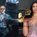 """Elton John and Dua Lipa Sing """"Bennie And The Jets"""" and """"Love Again"""" Together at Oscars Watch Party"""