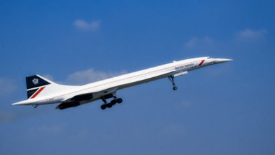 The Concorde Jet - originally put into service in 1976