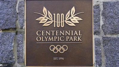 Atlanta Centennial Park - Home of 1996 Olympics
