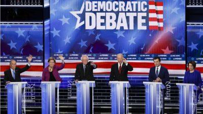 Democrats Take The Stage For South Carolina Debate