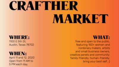 CraftHER Market Spring 2020