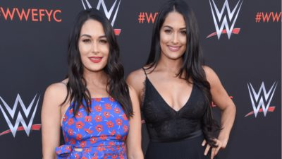 Nikki Bella Gives Birth To First Baby Just One Day Before Twin Sister Brie Bella Gives Birth To Her Second Child
