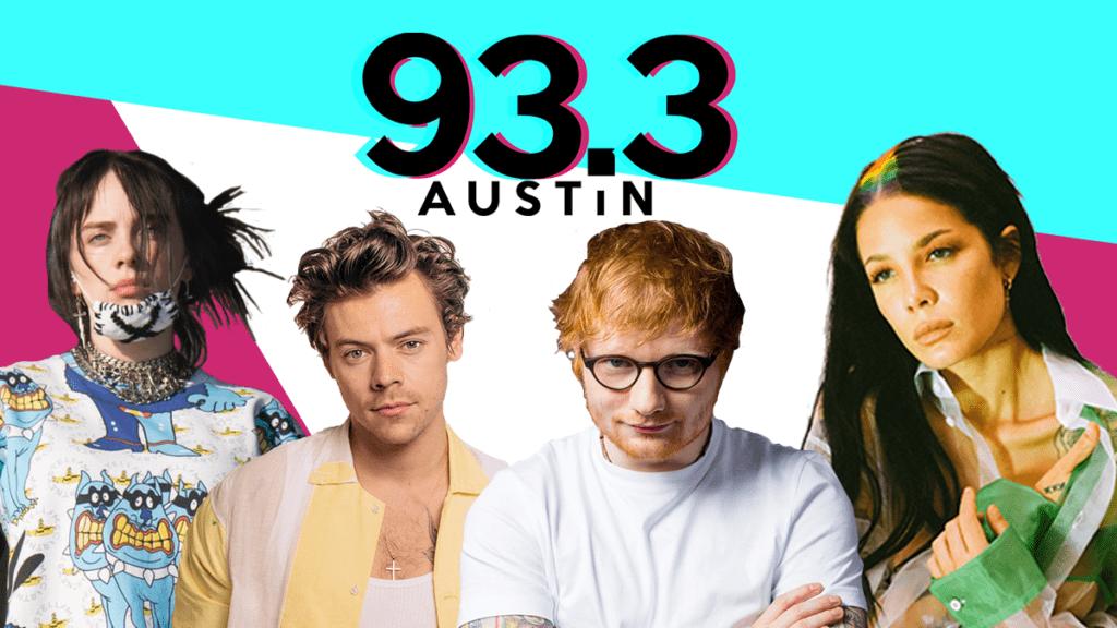 93.3 Austin: Billie Eilish, Harry Styles, Ed Sheeran, Halsey