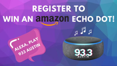 Register to win an Amazon Echo Dot!