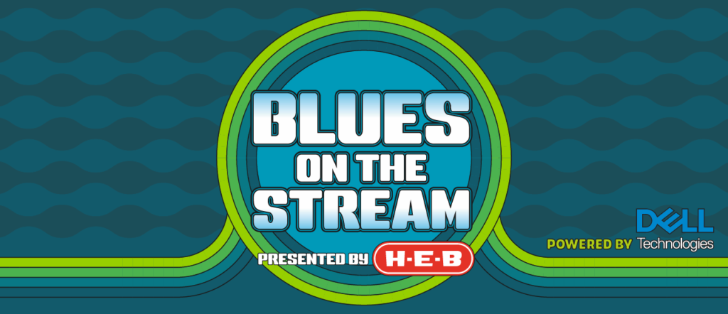 blues on the screen