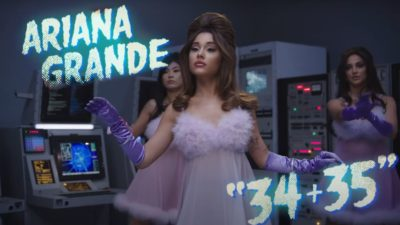 "Ariana Grande Premieres Music Video for ""34+35"""