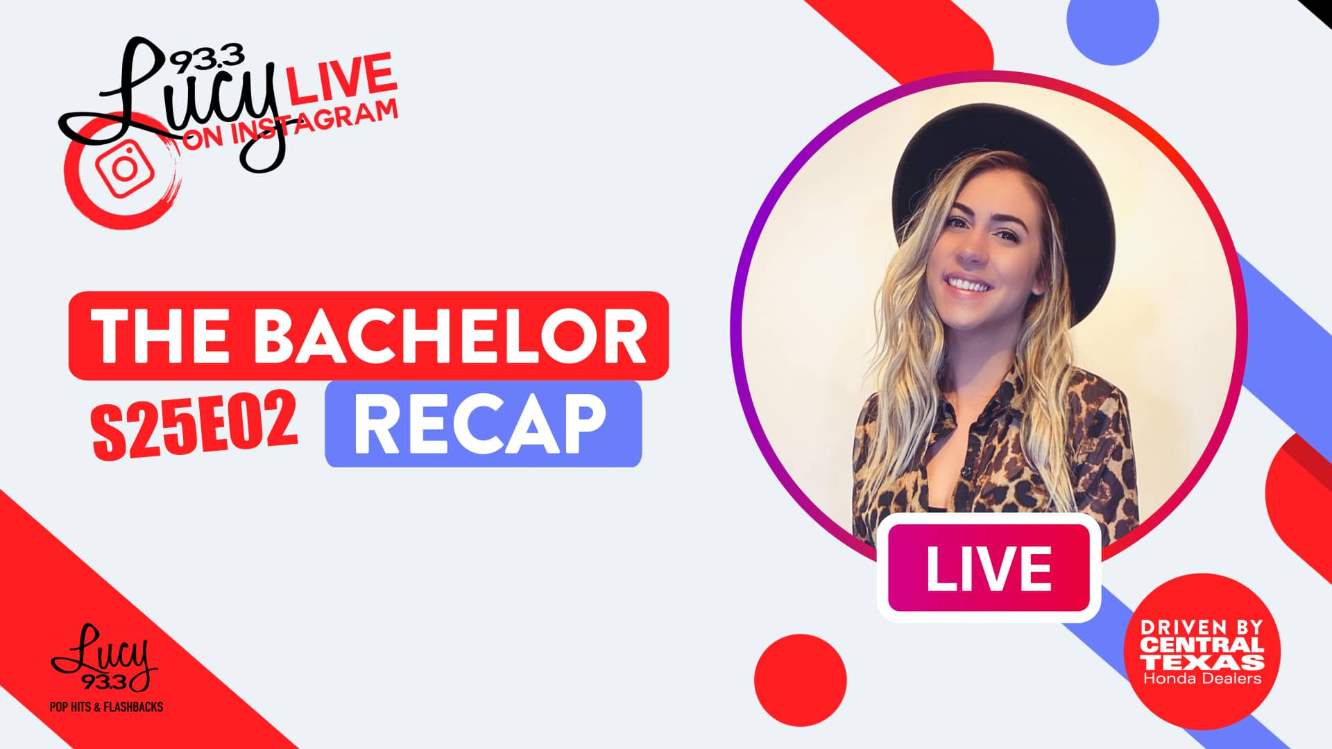 Lucy Live: The Bachelor Recap S25 Ep2