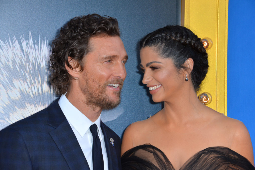Matthew McConaughey and his Camila McConaughey