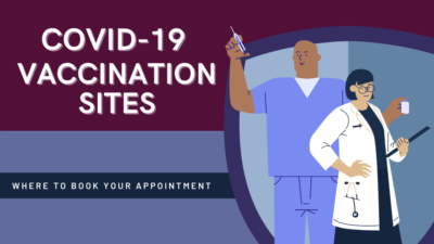 COVID-19 Vaccination Site, Where to Book an Appointment