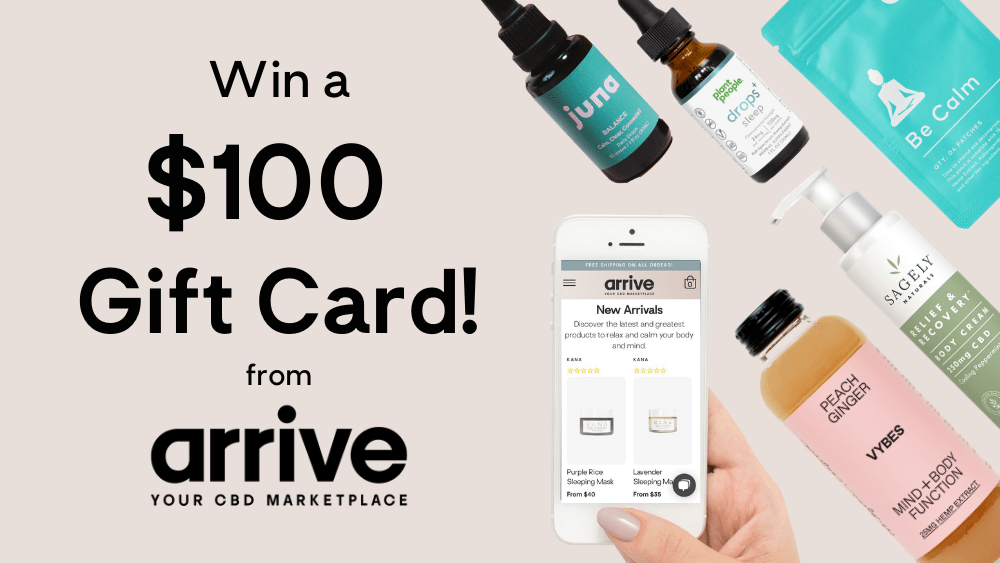 win a $100 gift card from arrive