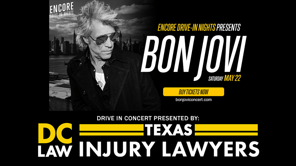 dc law presented bon jovi drive in concert