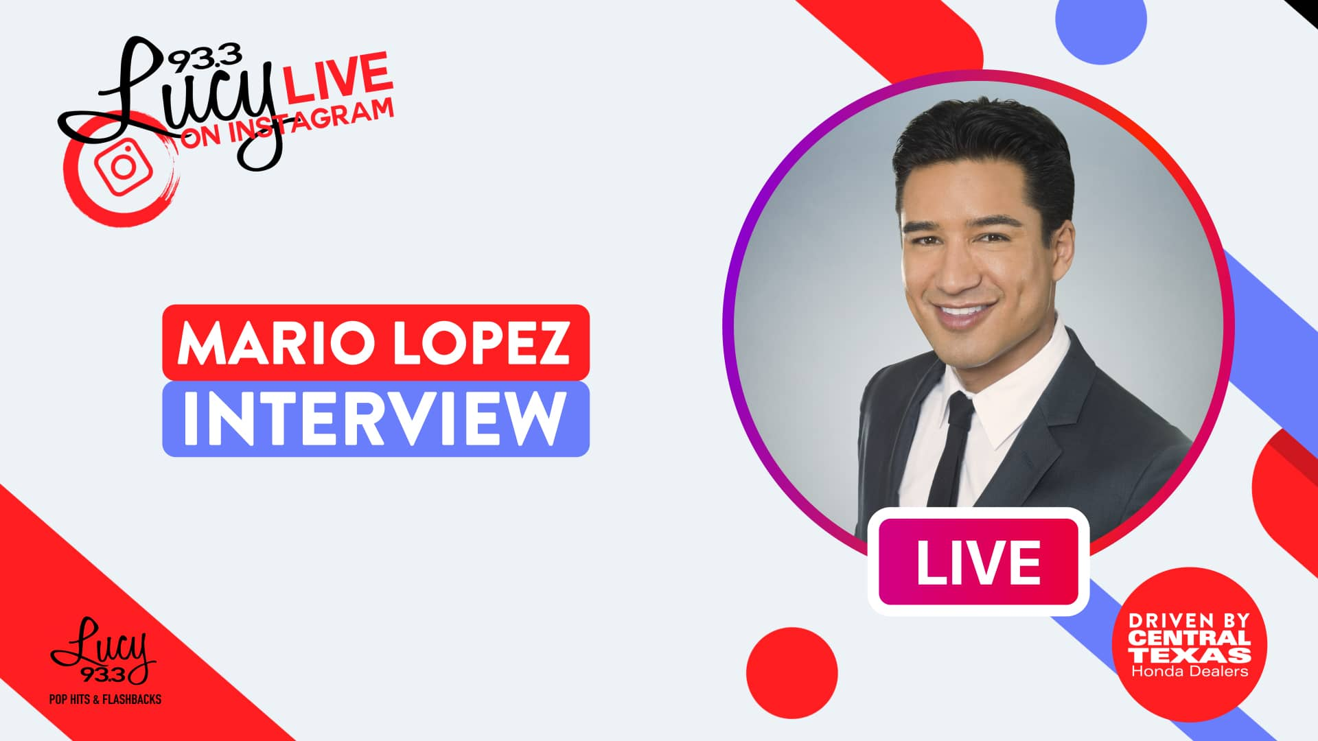 Lucy Live with Mario Lopez