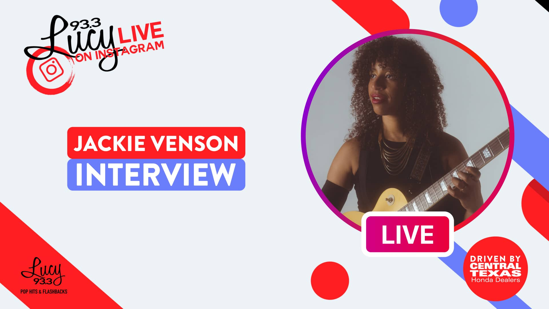 Lucy Live with Jackie Venson