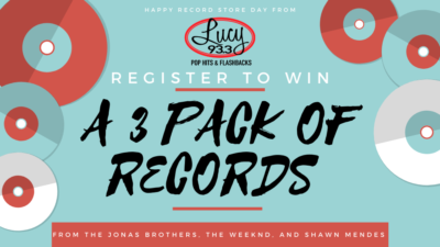 Celebrate Record Store Day with Lucy!