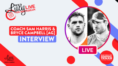 Lucy Live with Coach Sam Harris & Bryce Campbell of Austin
