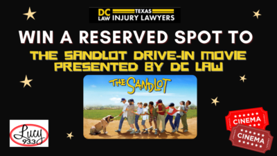 Win a spot at The Sandlot Drive-In Movie!