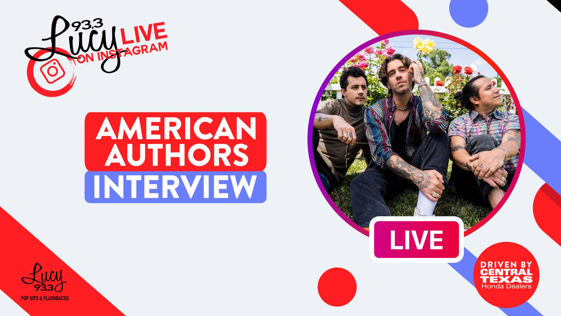 Lucy Live with American Authors