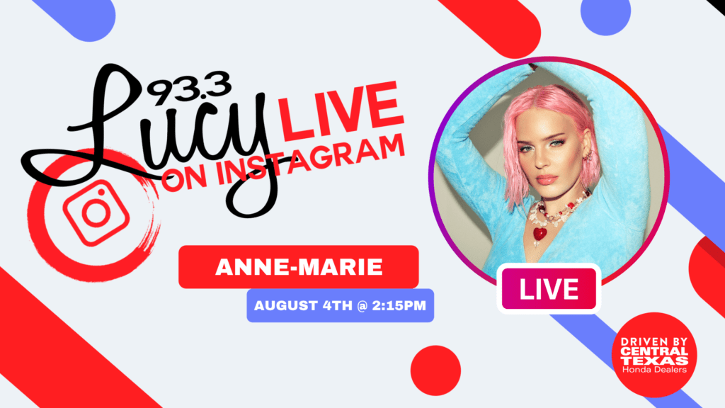 Lucy Live with Anne-Marie