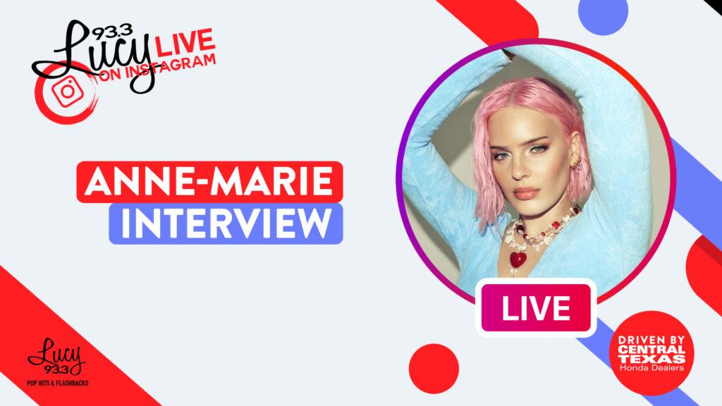 Anne Marie Interview