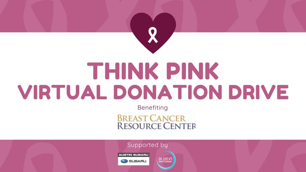 think pink virtual donatinon drive supporting BCRC