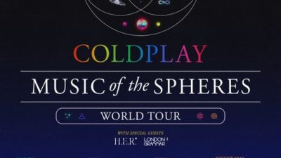 Coldplay Music of the Spheres World Tour