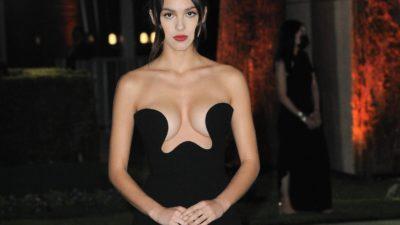 "Olivia Rodrigo is the vision of heartbreak in her ""Traitor"" music video"