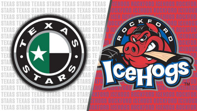 Win a 4 pack of tickets to Texas Stars vs Rockford Icehogs!