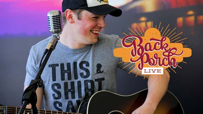 Travis Denning Back Porch LIVE Acoustic Performance