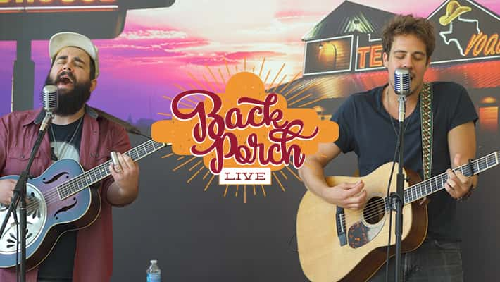 Everette Performs on HANK FM's Back Porch LIVE presented by Texas Roadhouse