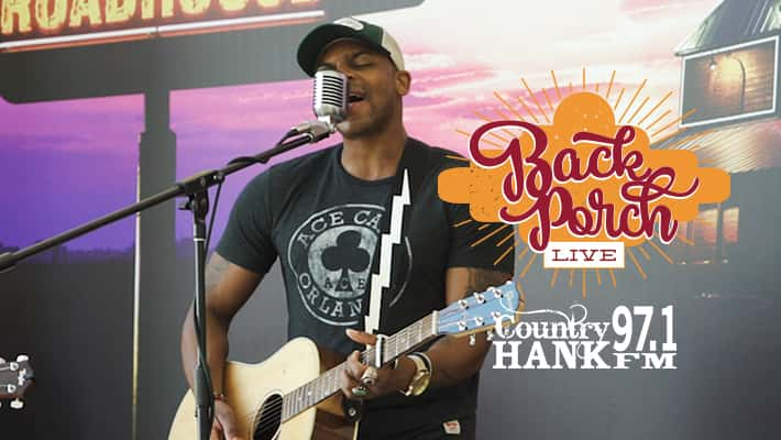 Jimmie Allen on the Texas Roadhouse Back Porch LIVE