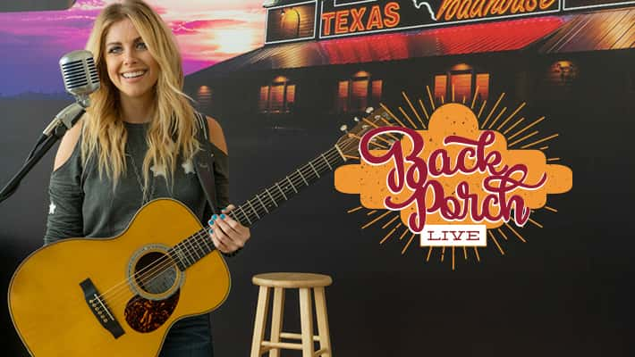 Lindsay Ell on Texas Roadhouse Back Porch Live at Country 97.1 HANK FM in Indianapolis